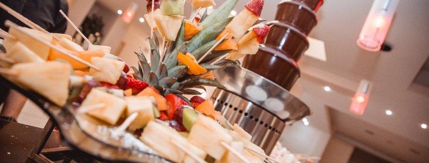 Residenza Agorà buffet di frutta