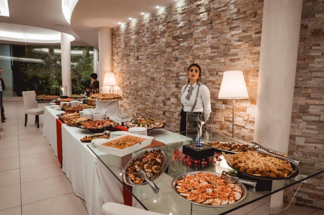 Residenza Agorà buffet 40 anni