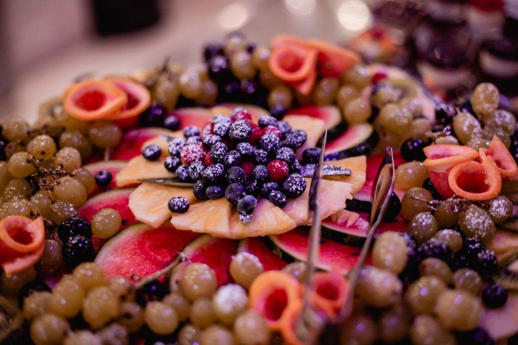 Residenza Agorà frutta per feste 40 anni