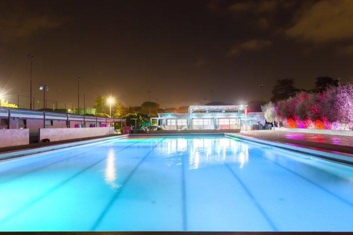 Oasi Eventi piscina notturna