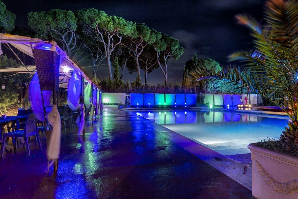 Appio Claudio Eventi piscina notturna