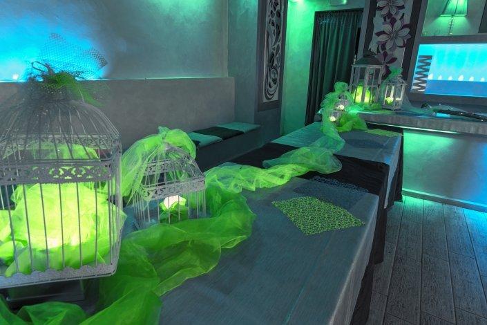 Oasi Eventi sala in verde