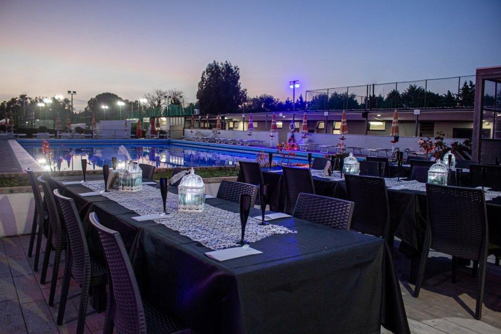 locali con piscina per le feste 40 anni a roma